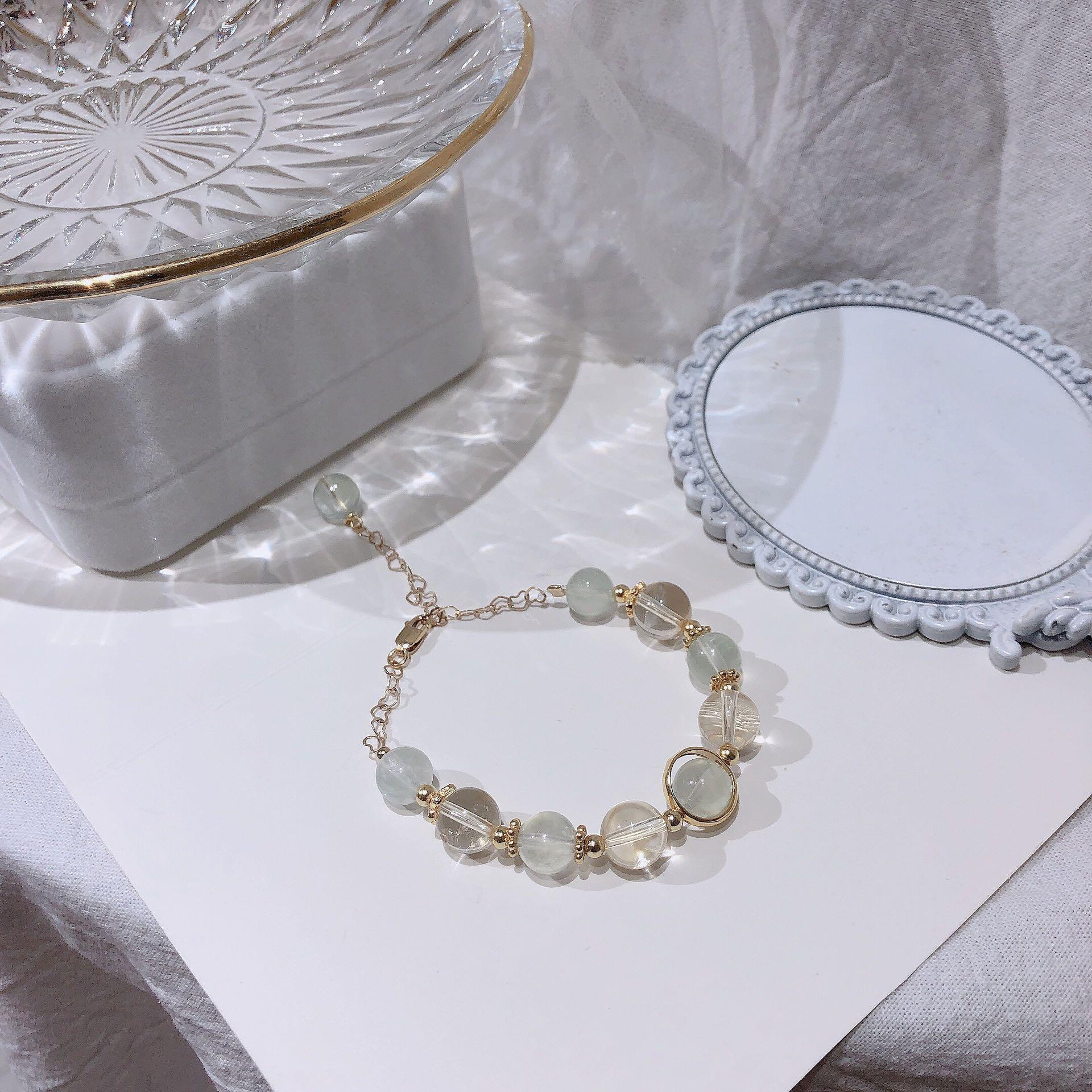 Hot selling 14K package Golden Topaz grapevine Bracelet grapevine simple hand string gift
