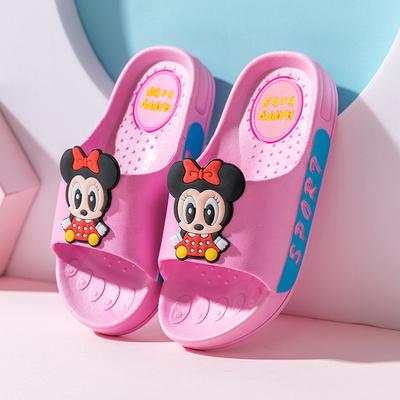可爱老鼠儿童拖鞋夏亲子室内外防滑软底洗澡男童女童凉拖鞋中大童