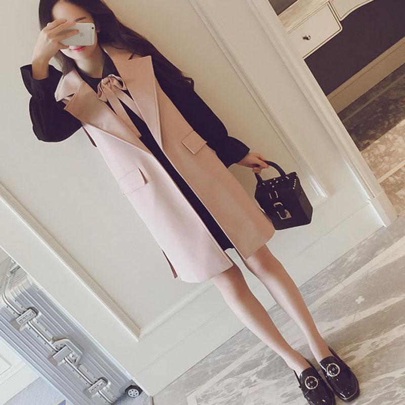 大码女装春秋新款两件套装外套显瘦连衣裙胖mm中长款马甲套装裙女