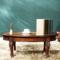 欧式美式实木家具 客厅椭圆面小茶几茶桌 现代时尚简约榻榻米桌子