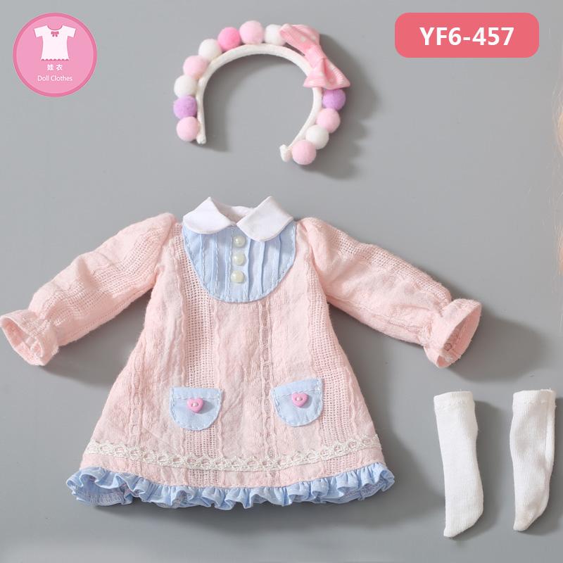 6分bjd娃娃 衣服 sd娃衣 蕾丝花边公主 连衣裙 Kimi身体系列