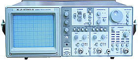 XJ4364A New 100MHzCRT readout oscilloscope military identification product original 18 months warranty