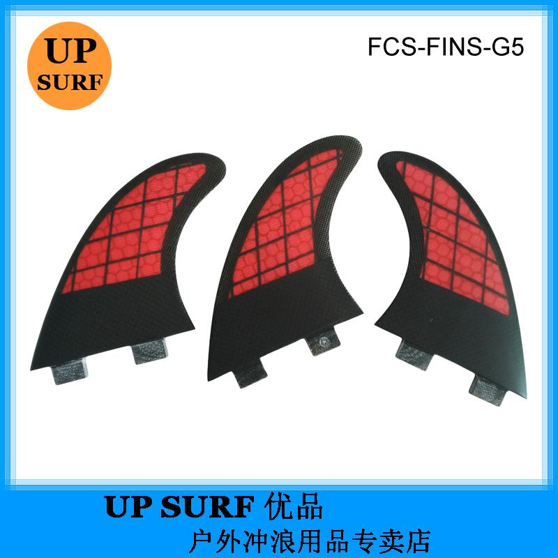 Специальность прибой доска хвост руль новый FCS G5 рыба Fin Surfboard Fins