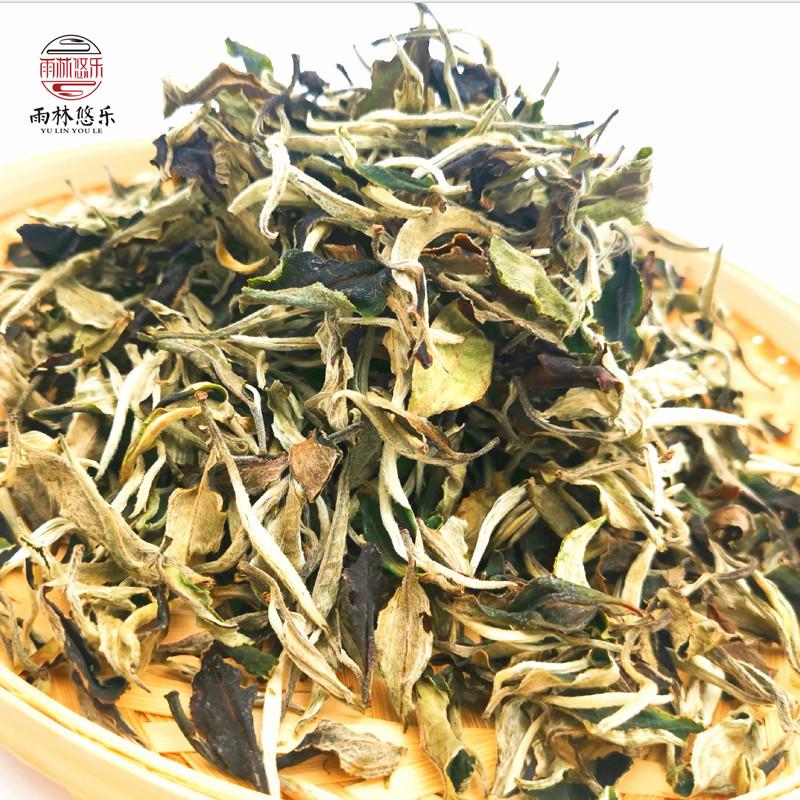 Rainforest youlejinuo cottage Puer tea powder 2020 spring tea moonlight white (500g)