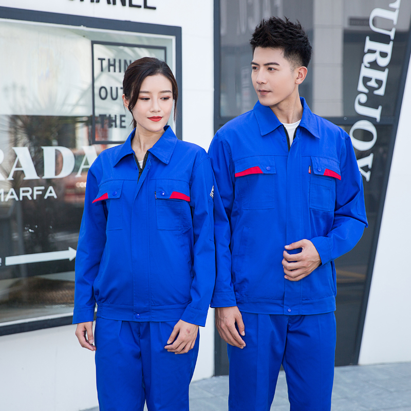 Anti static engineering clothing autumn winter long sleeve uniform factory enterprise electrician welder clothing electric power company installation tooling