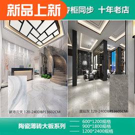 蒙娜丽莎瓷砖 陶瓷薄板600X1200 大板900X1800 地砖墙砖1200X2400图片