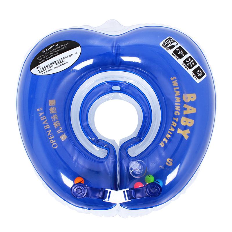 歐培 嬰兒遊泳圈脖圈寶寶頸圈安全充氣加厚新生幼兒童泳圈脖子圈
