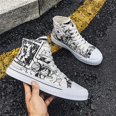 新款 四季透气板鞋帆布鞋韩版学生鞋布鞋男鞋,货号292K
