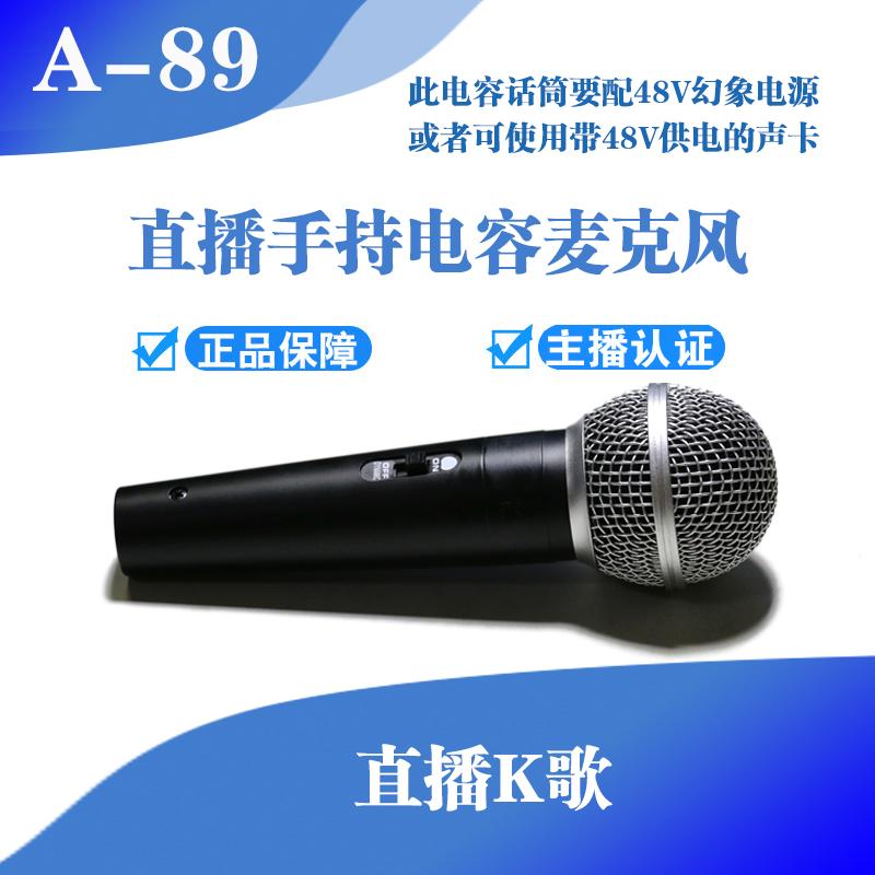 A-89 сеть живая K песня портативный емкость микрофон ( два брат филиал )