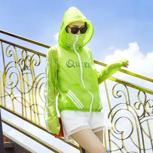 防晒衣女夏季短款大码2021新款时尚防紫外线透气长袖薄款开车外套