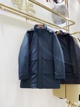 国标白鹅绒中长款羽绒服男检测报告2001XY雷卡设计生活馆