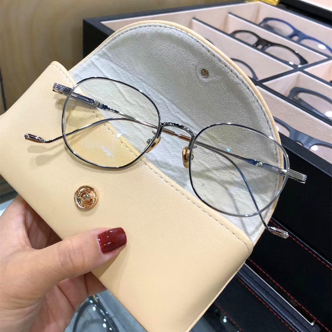 GM glasses new Xiao Zhan and Li Xian same glasses frame pure titanium ultra light retro glasses frame art men and women tom22