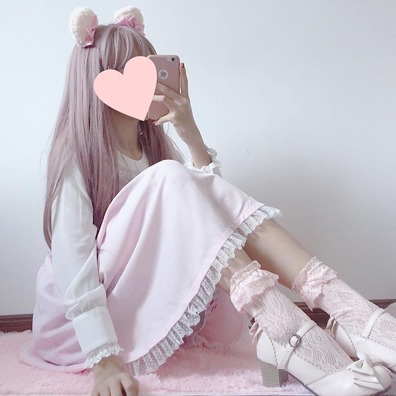 限7000张券蕾丝花边公主袜甜美透气lolita网袜