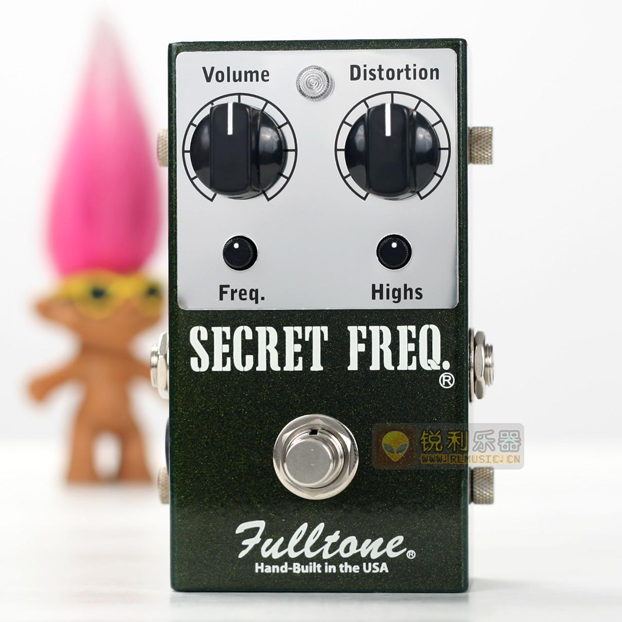 【Fulltone Secret Freq】秘密频率 过载失真效果器【锐利乐器】