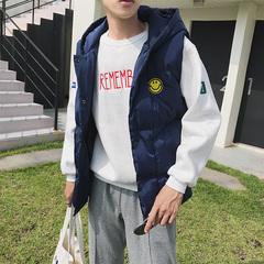 2017秋冬季日系文艺棉背心马甲情侣背心外套6(不得低于99)MY01P75