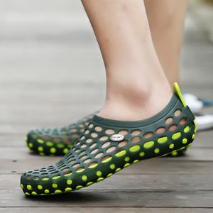 鸟巢男鞋洞洞鞋网面鞋透气夏季沙滩鞋涉水鞋防滑拖鞋潮夏天凉鞋子