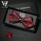 男士伴郎新郎黑色红色领结衬衫男 结婚婚礼韩式高档英伦蝴蝶结女