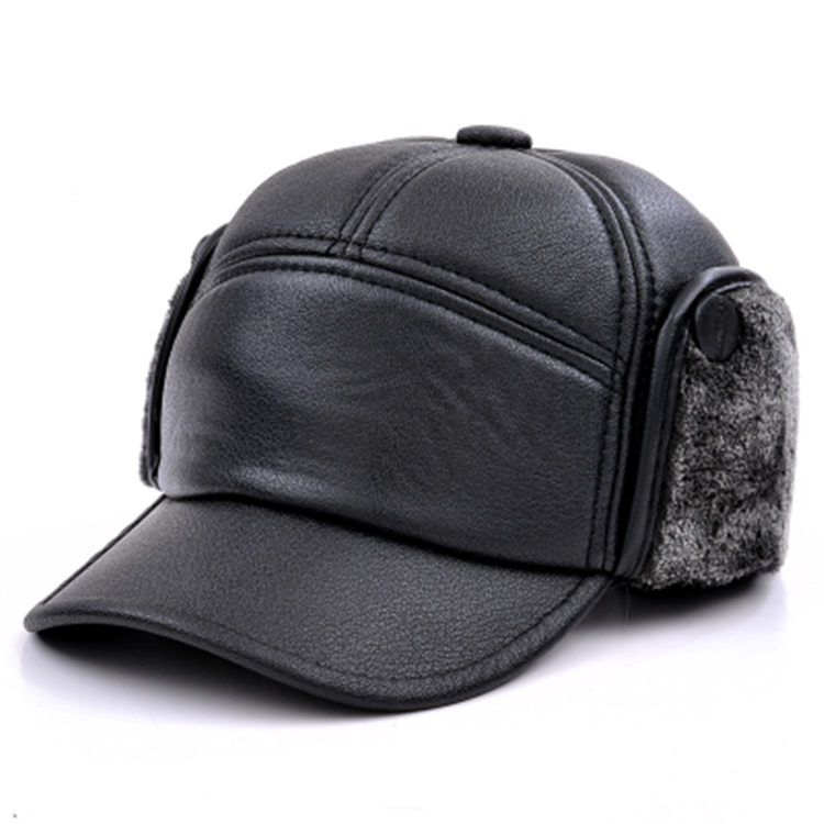 В пожилых шляпа мужчина зима счет лэй фэн шапка теплые хлопок крышка кожа крышка дед старый головной убор старики крышка осень и зима день