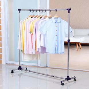 不銹鋼落地伸縮陽臺室外簡易曬衣架
