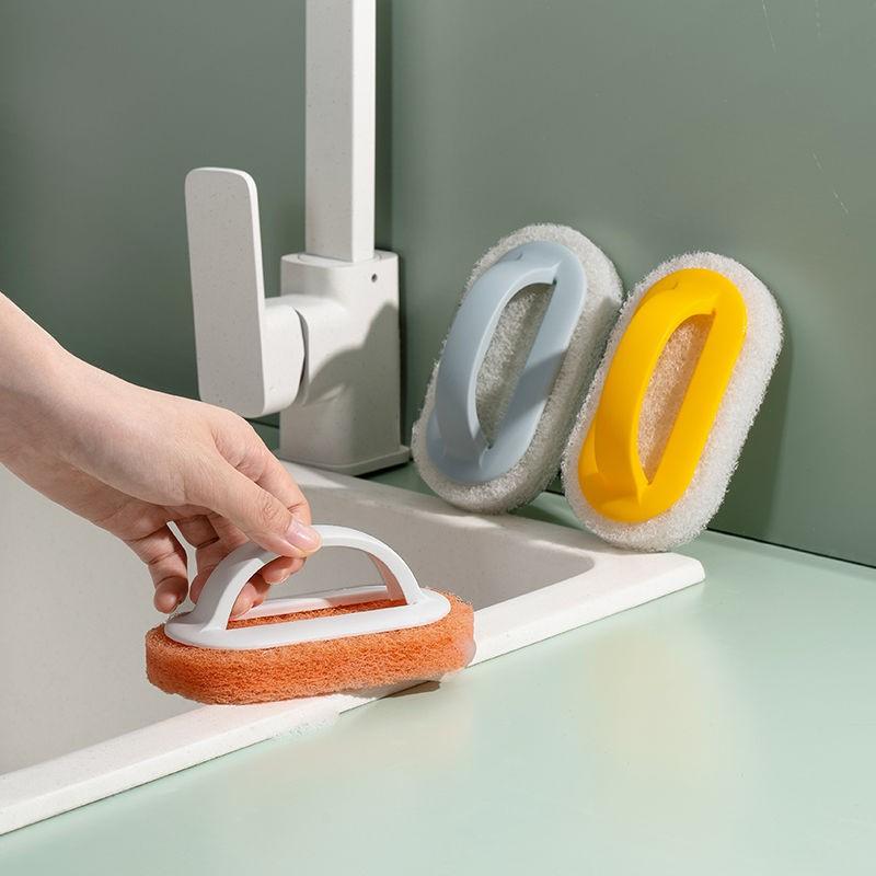 厨房浴室百洁瓷砖清洁刷玻璃洗手池去污厨房锅灶台墙面立净清洁刷