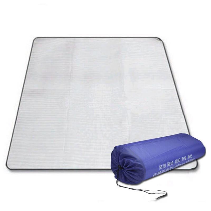 戶外用品 露營野營用品 帳篷墊 雙面鋁膜防潮墊 EVA防潮墊包郵