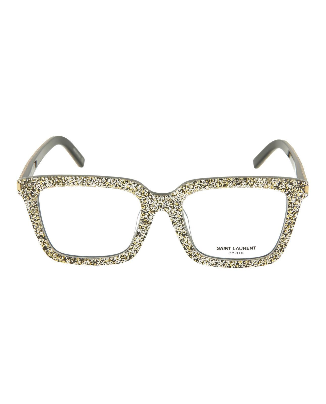 saint laurent女款方形光学眼镜架