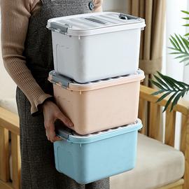 收纳箱塑料整理箱玩具收纳盒子卧室家用储物箱子杂物