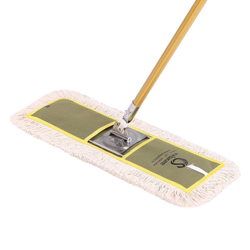 スクリーン綿の糸はモップをモップにして、コットンの家庭用モップをレストランのホテル専用モップの先までドラッグします。