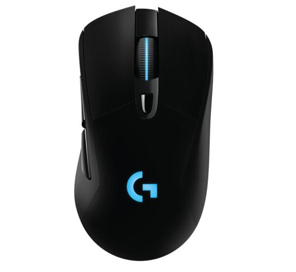 包邮罗技g703rgb背光有线无线双模游戏鼠标g403升级绝地求生