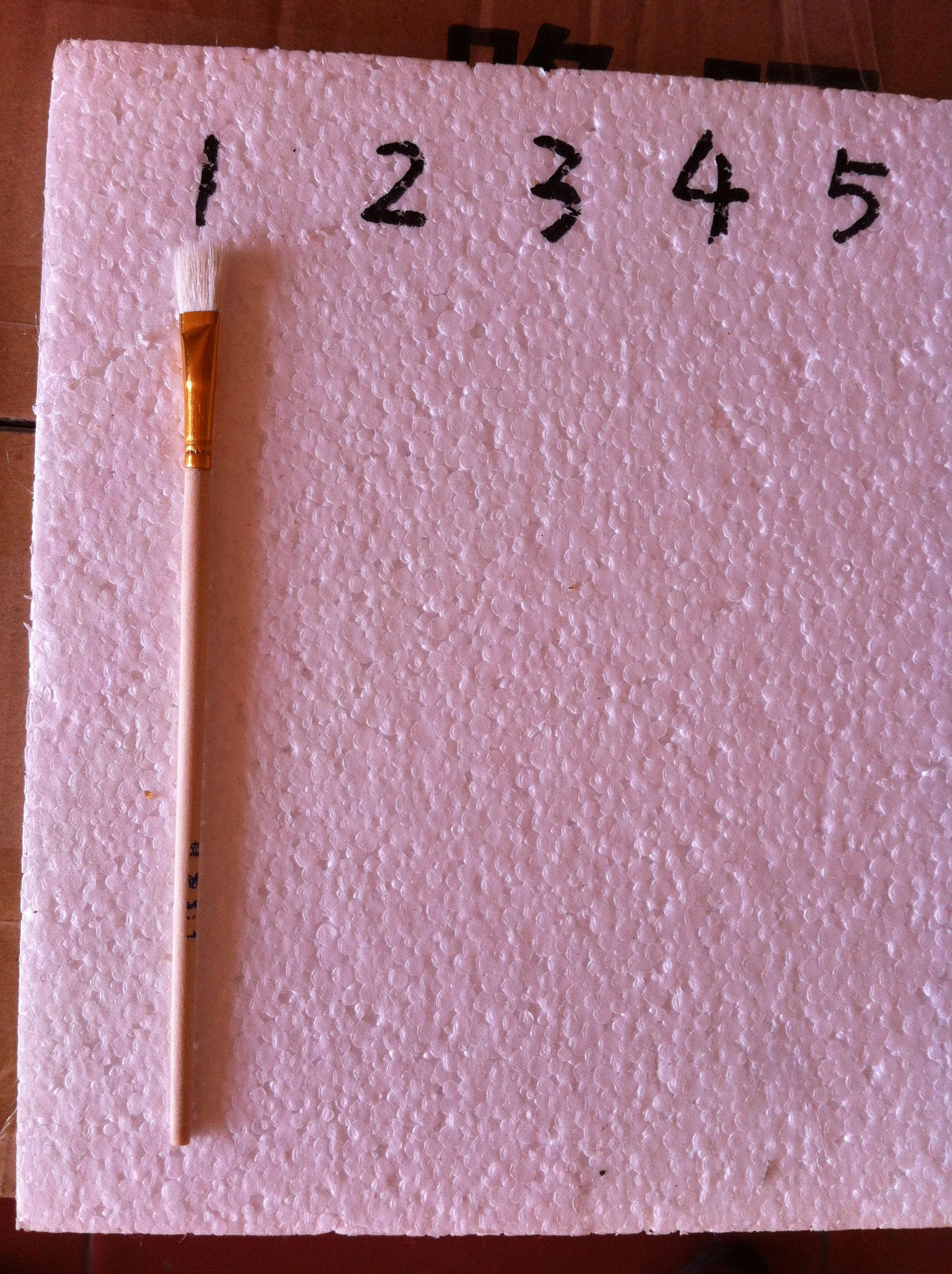 Золотые следы для Ручка для ручек кисти 1 обычный Пишущая кисть