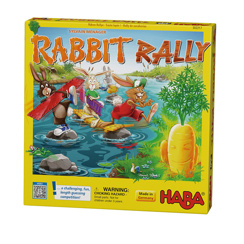 German Haba board games exercise 3-year-old childrens sense of competition