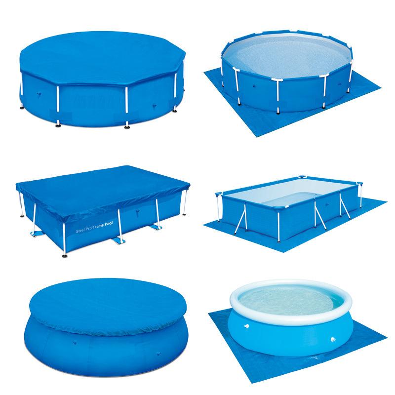 游泳池盖布垫布 水池盖子垫子 游泳池防尘遮雨布地布 加厚券后29.00元