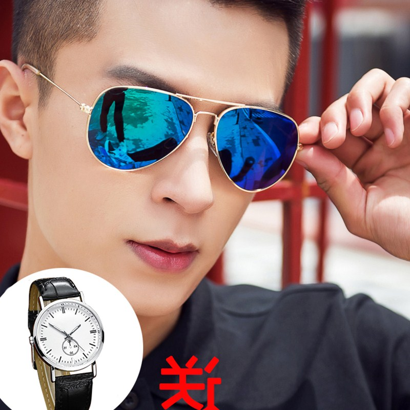 Big sale driver male and female Sunglasses fashionable personality toad glasses female glasses driving Sunglasses man too