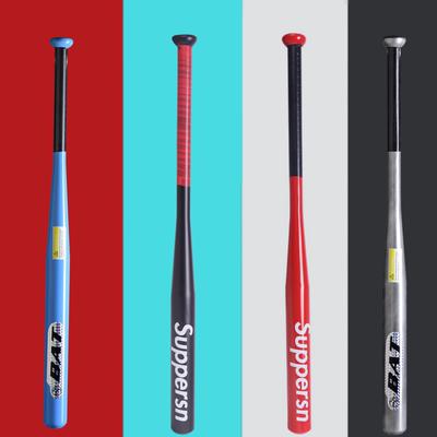 Baseball bat thickened alloy steel baseball bat car self-defense dumb black baseball bat weapon family defense baseball bat