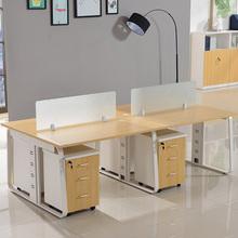 上海办公家具职员员工组合办公桌椅四人位2/4/6人位电脑桌工作位