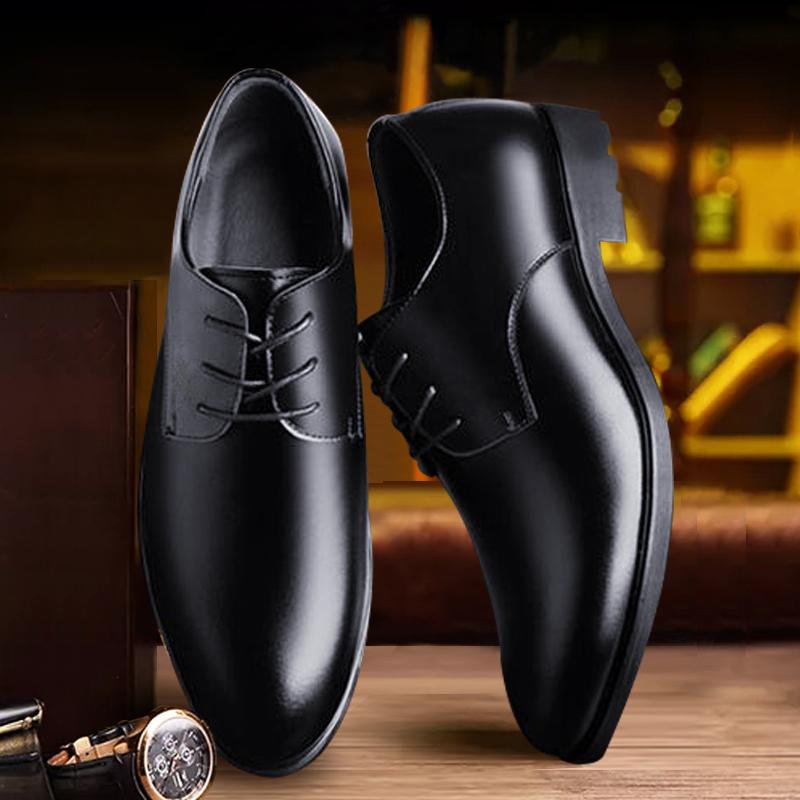 シェフ靴男子滑り止め防水防油厨房用靴男子靴黒靴全黒靴通勤靴