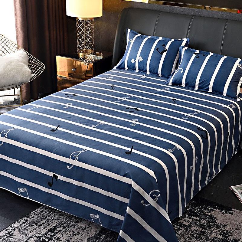 【正在清仓】床单单件加厚斜纹磨毛床单被单单人双人宿舍床上用品