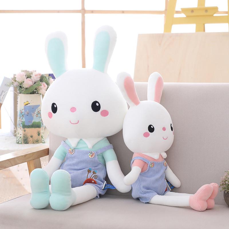 兔子公仔毛绒玩具女生小号兔布娃娃抱抱熊睡觉玩偶女孩生日礼物男