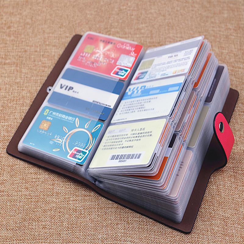 新款韩版 防消磁96卡位卡片包 包邮特价男女式 多卡位大容量名片