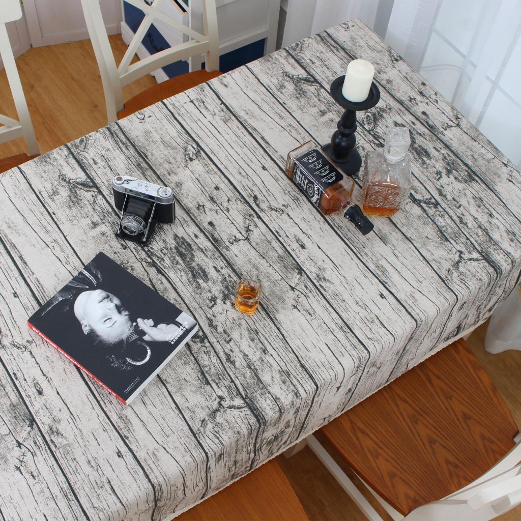 西式欧式文艺素雅复古怀旧地图素描酒吧花边西餐厅棉麻餐桌布台布