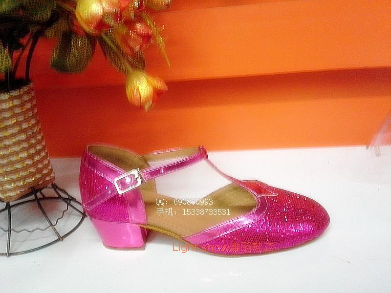 Весна/лето месте детей латинских танцев обувь танцевальная обувь зимние дети Баотоу латинского современного танца обувь Обувь для девочек