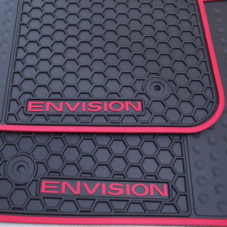 别克20款昂科威威朗英朗XT GT两厢专用汽车橡胶脚垫PVC地毯式防水