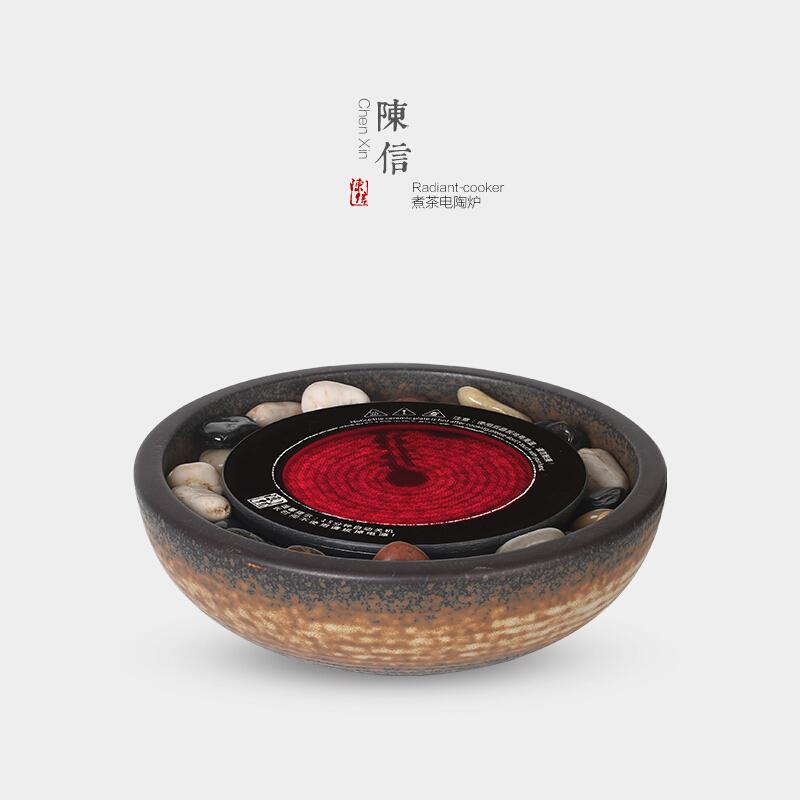 日式迷你茶炉家用小型电陶炉煮茶器陶壶烧水铁壶泡茶静音功夫茶具