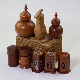 中式时尚高档红木牙签筒花梨木鸡翅木牙签盒 实木创意牙签罐促销