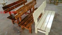 公园长椅防腐木户外长椅休闲会议厅椅咖啡馆椅农家乐椅防水防晒