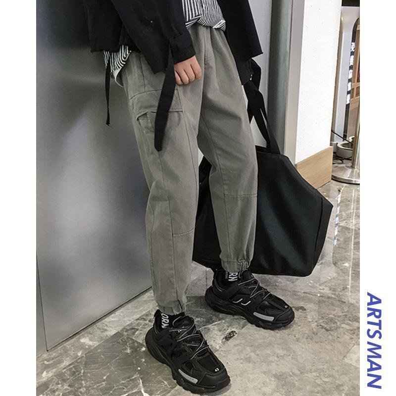 有赠品@港仔文艺男2019秋季新款休闲裤