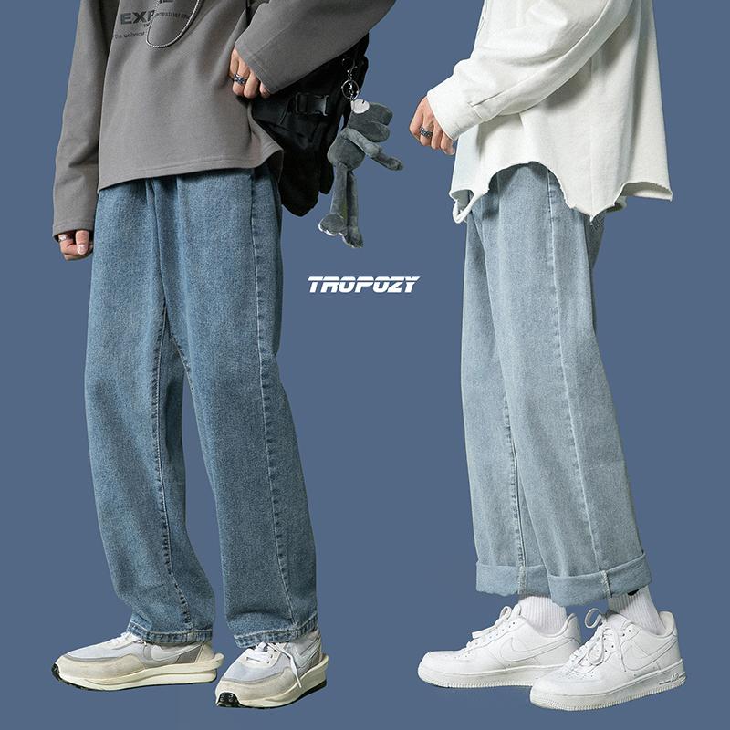牛仔裤男直筒