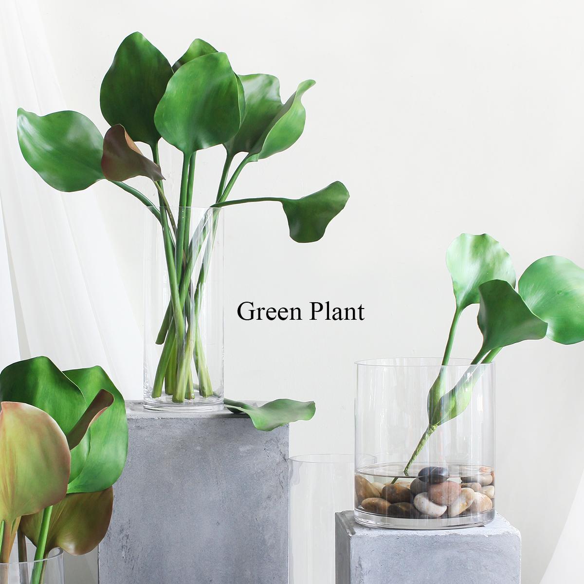 西西里北欧绿植水浮莲叶仿真植物家居客厅办公室酒店装饰搭配绿叶