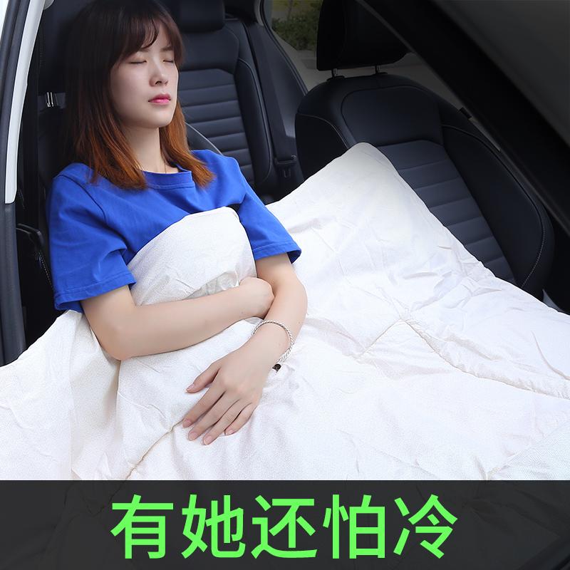 车用枕头被子两用一对车内车载抱枕正品保证