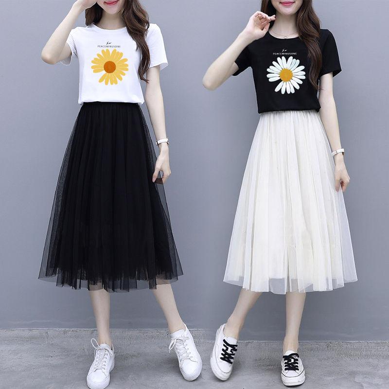 12青少年13夏装15少女16初中学生宽松夏裙子夏季女孩18连衣裙14岁